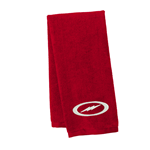 Storm Velour Towel Red