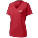 Storm Ladies Racermesh V-Neck Red