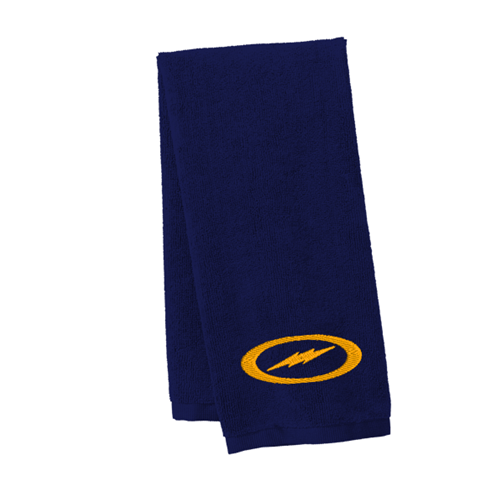 Storm Velour Towel Navy